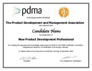 pdma_npdp_certificate